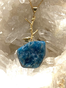 apatite necklace, full moon designs brixton,