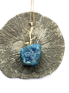 apatite necklace by full moon designs