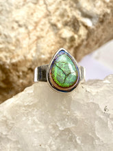 Load image into Gallery viewer, Opal Sterling Silver Ring