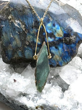 Load image into Gallery viewer, mtorolite brass necklace