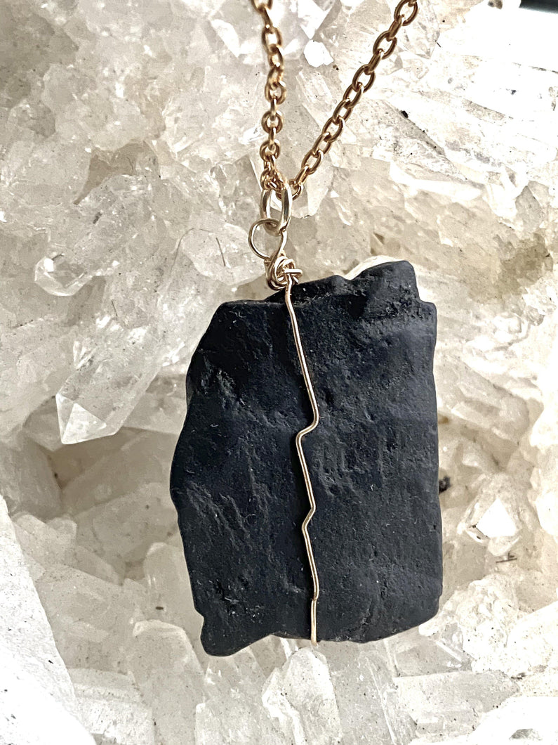 Shungite Gold filled Necklace