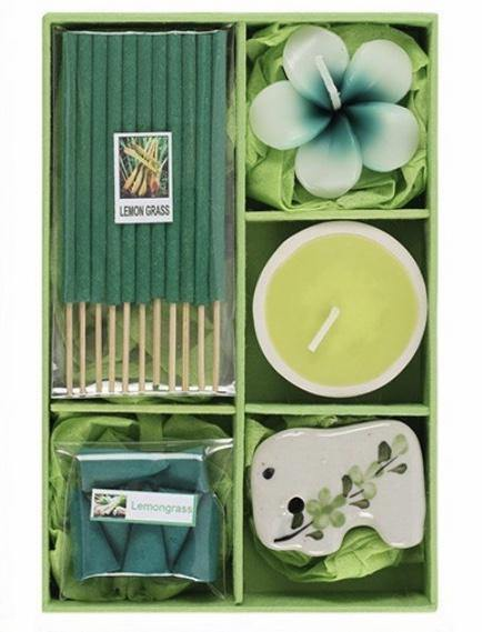 Gift Set. Lemongrass - Full Moon Designs