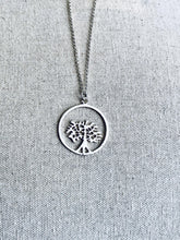 Load image into Gallery viewer, Silver Necklace. Tree of Life