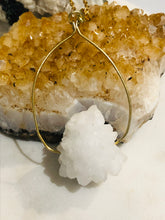 Load image into Gallery viewer, Snow Ball Quartz Necklace - Full Moon Designs