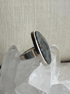 Kyanite (Blue) Sterling Silver Ring - Full Moon Designs