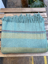 Load image into Gallery viewer, Recycled Wool Blanket Stripes