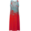 Red Bloss Cami Dress