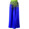 Green Bloss Maxi Skirt