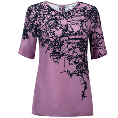 Arbre Pink Short Sleeve Top