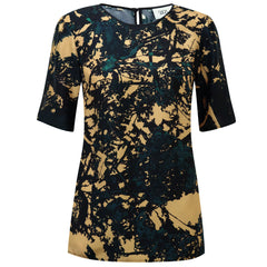 Camo Dark Short Sleeve Top