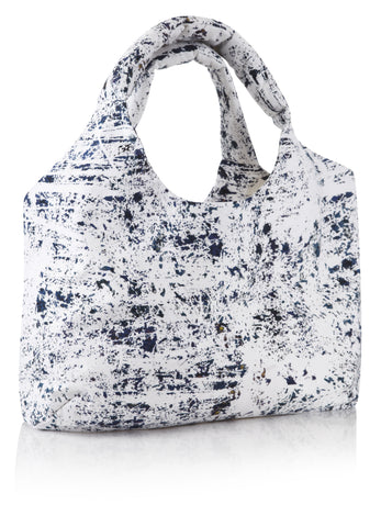 Blue White Big Bag