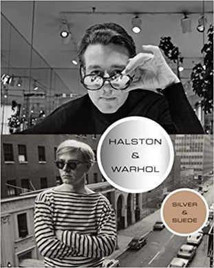 Halston and Warhol: Silver and Suede