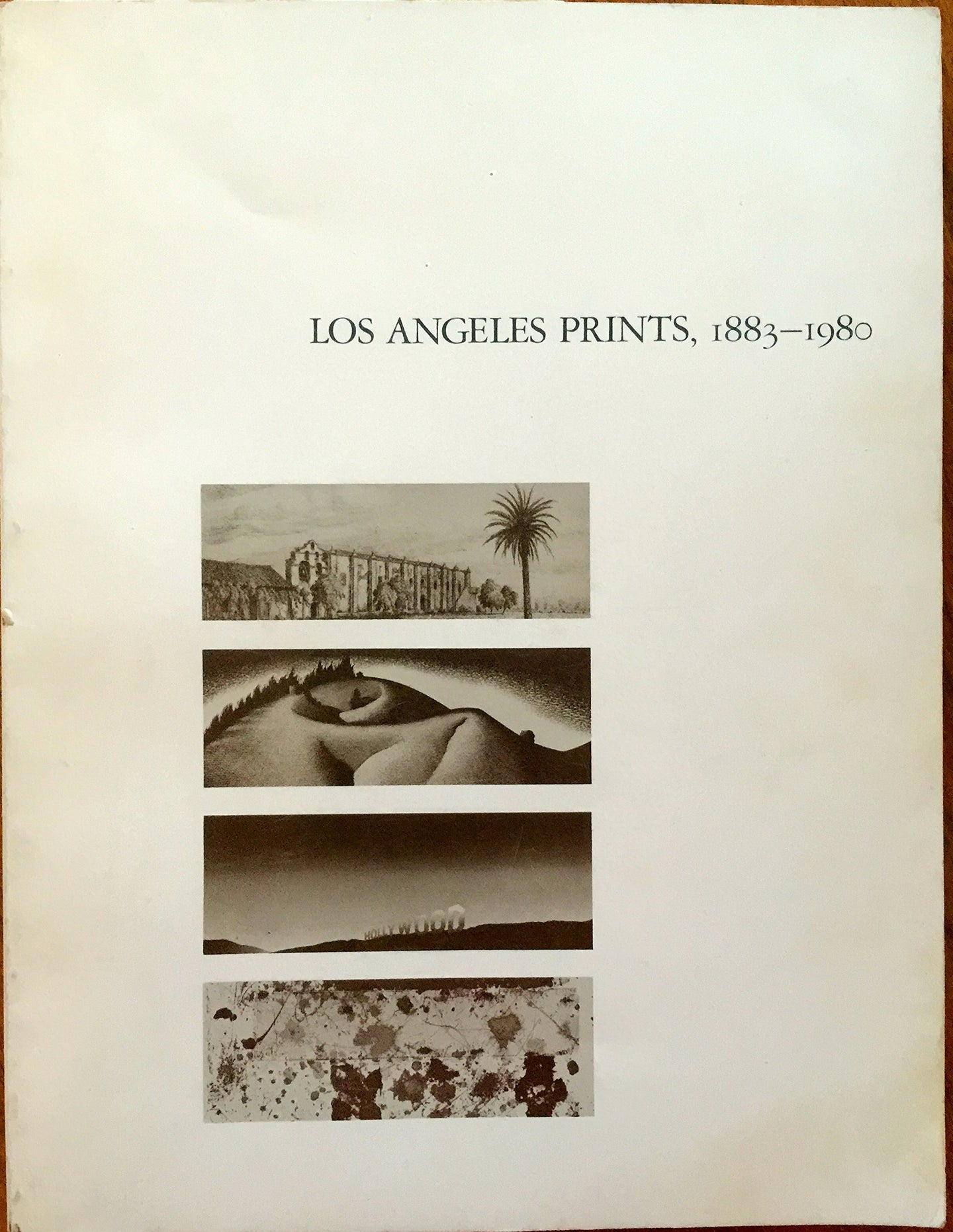 Los Angeles Prints, 1883-1980