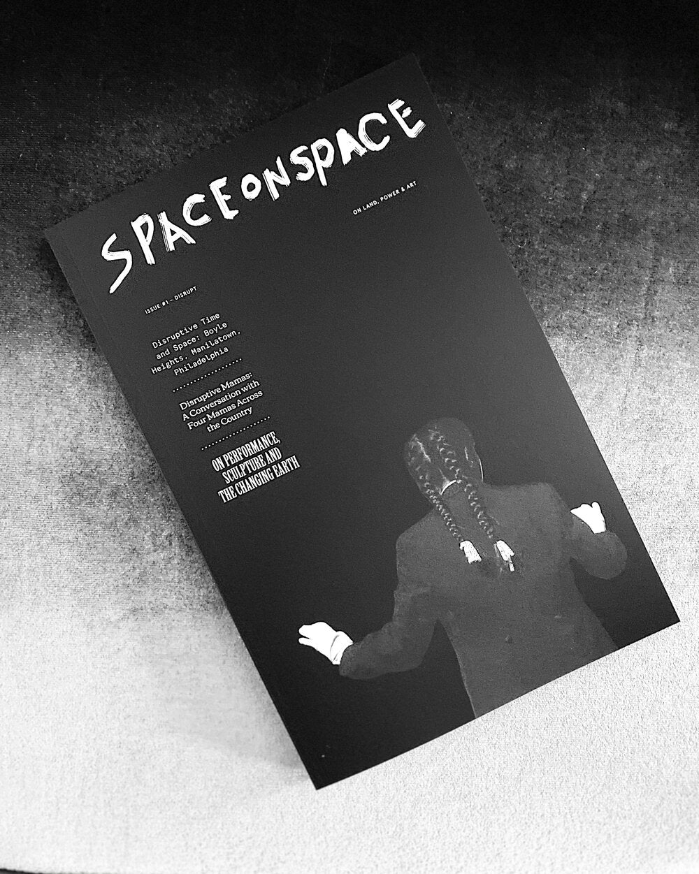 SPACEONSPACE, Issue 1: Disrupt