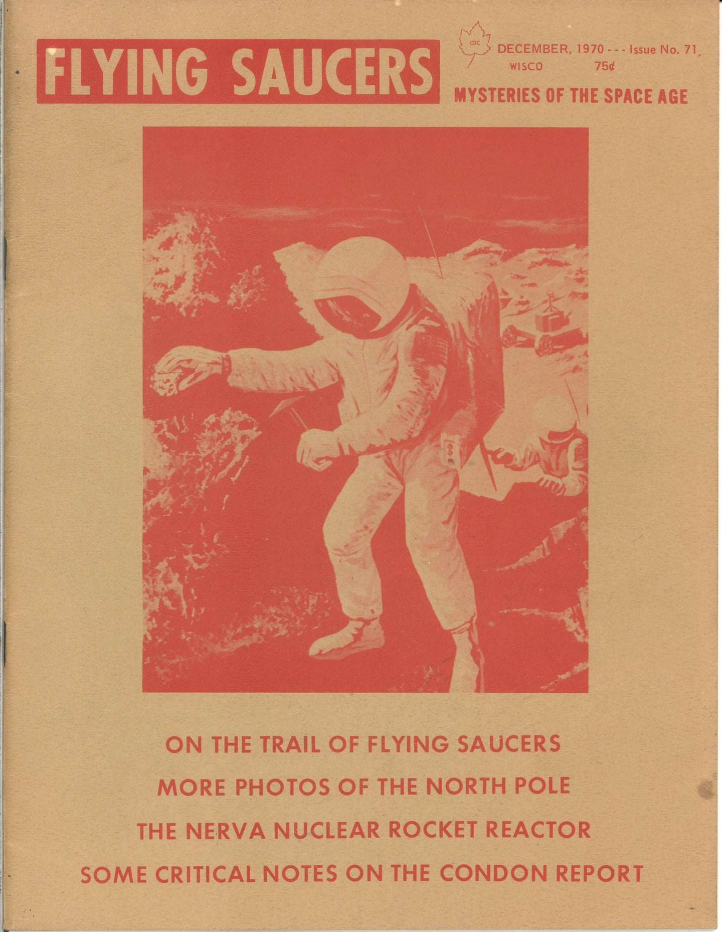 Flying Saucers Issue No. 71: Mysteries of the Space Age