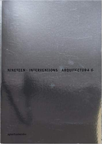 Nineteen Interventions: Arquitectura-G