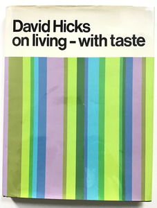 David Hicks: On Living - With Taste (DIFFERENT COVER)