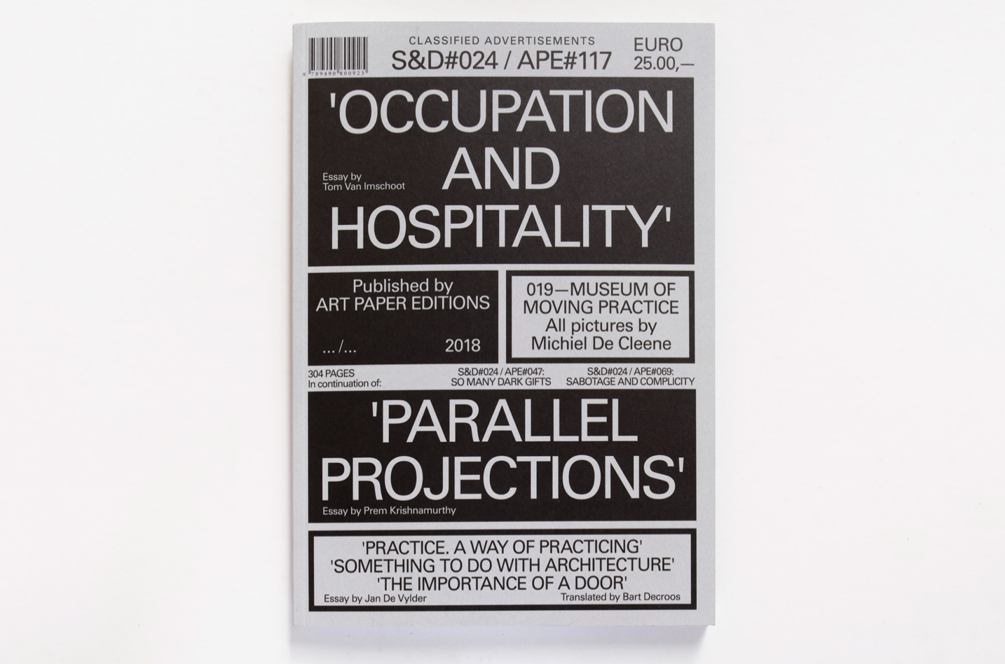 Occupation and Hospitality Zine