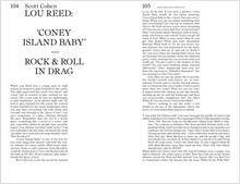 Load image into Gallery viewer, My Week Beats Your Year: Encounters with Lou Reed