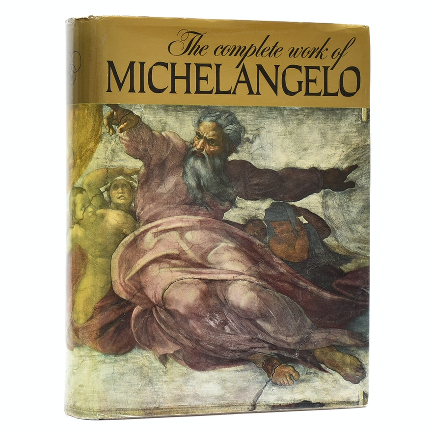 The Complete Works of Michelangelo Vol. 1 & 2