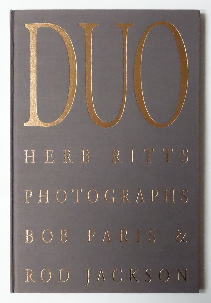 DUO: Herb Ritts Photographs Bob Paris & Rod Jackson