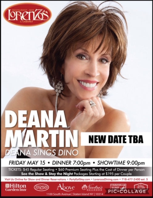 Deana Martin - RESCHEDULED FOR Friday, October 2, 2020