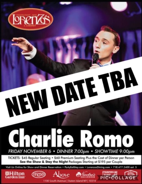 Charlie Romo - Friday November 6th, 2020