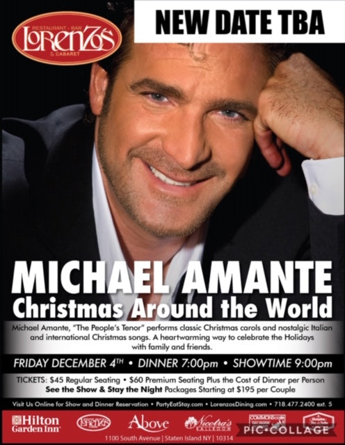 Michael Amante - Friday December 4th, 2020