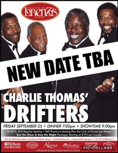 Charlie Thomas' Drifters - Friday, September 25, 2020