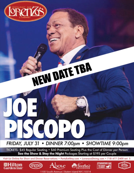 Joe Piscopo - Friday, July 31, 2020