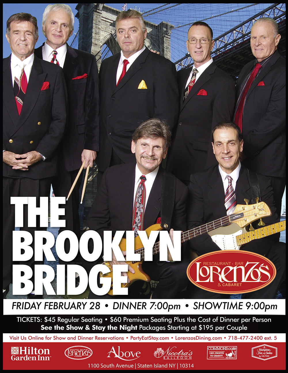The Brooklyn Bridge - Friday, February 28, 2020