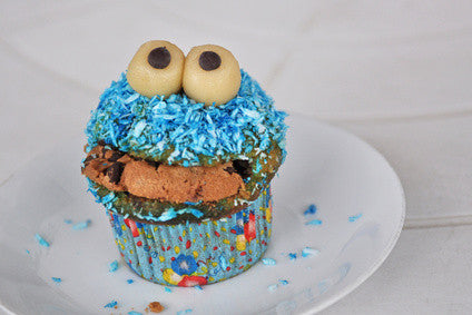 Kinder Party Krümelmonster Muffin