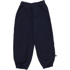 Popeline-Hose Green Cotton in navy bei Heldenkind