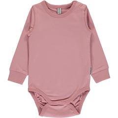 Maxomorra Body Langarm DUSTY PINK