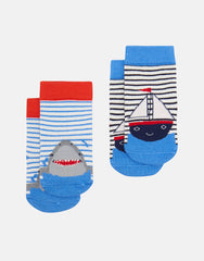 Tom Joules Neat Feet Boat Shark