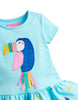 Tom Joules Kleid Aqua Fruit Toucan