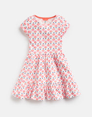 Tom Joules Coco Dress Cream Heart Geo
