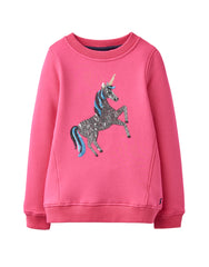 Tom Joule Pullover Pink Unicorn