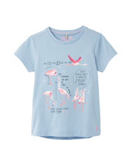 Tom Joule Shirt Blue Flamingos