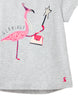 Tom Joule Shirt Grey Flamingo