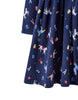 Tom Joule Kleid Navy Horses