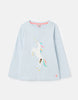 Tom Joules - Langarmshirt Paige - Blue Unicorn