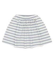 Sense Organics - EVIE Skirt Dusty Blue Stripes