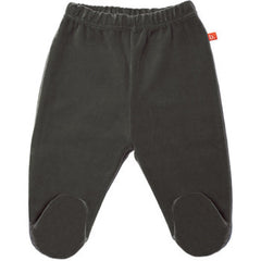 Baby Hose Polaina Velour Dark Grey