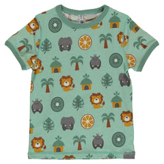 Maxomorra Kurzarm-Shirt  JUNGLE
