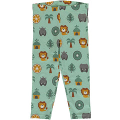 maxomorra - 3/4 Leggings JUNGLE