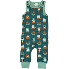 Maxomorra Playsuit Strampler Lake Life