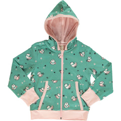 Maxomorra Cardigan Hood  LITTLE SPARROW