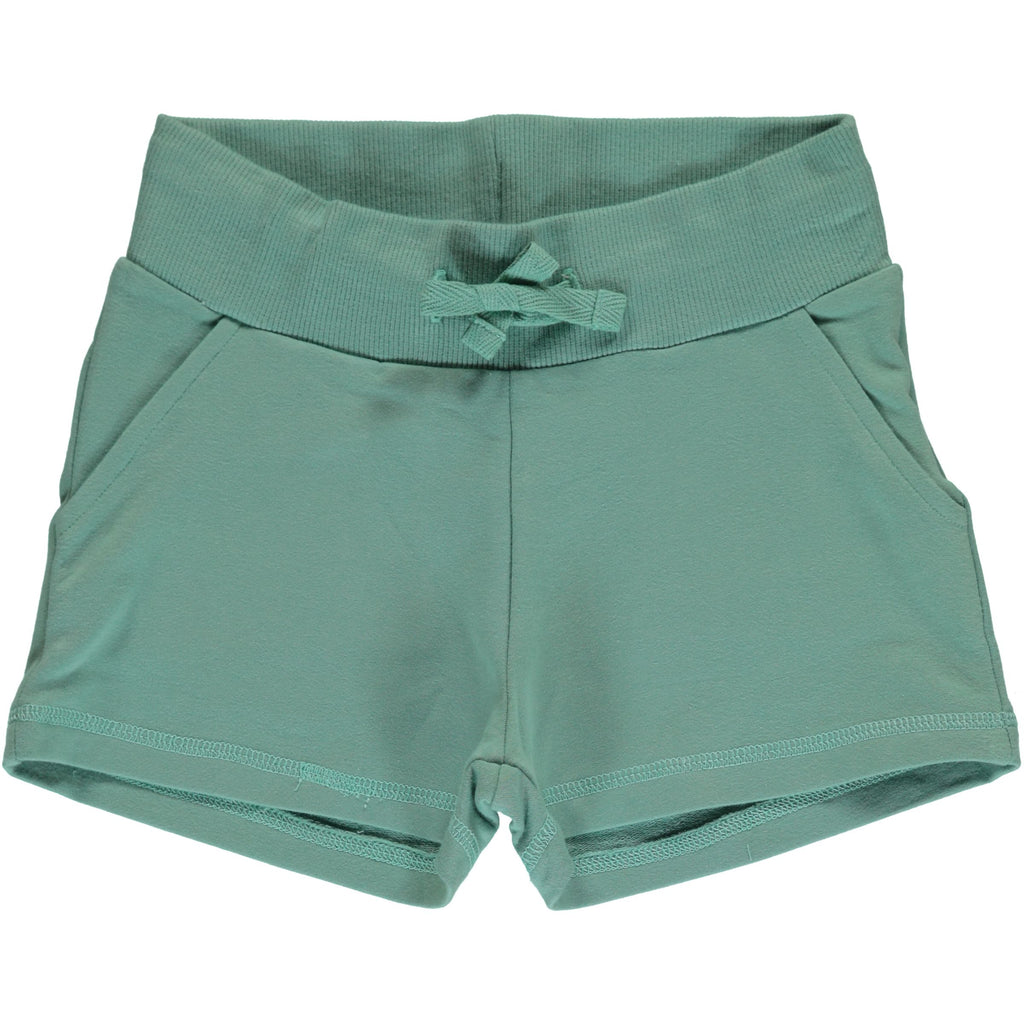 maxomorra - Sweatshorts PALE ARMY