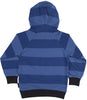 Kapuzen-Sweatshirt YACIM BLUES in blau/schwarz